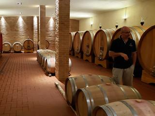 Gianluca, owner and winemaker at Santa Giulia winery