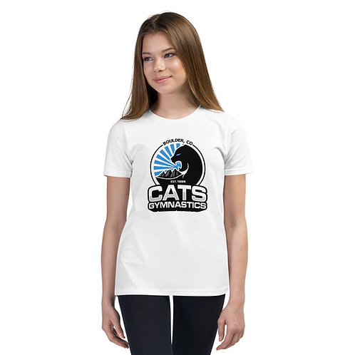 White CATS T-Shirt - Youth