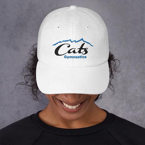 White CATS Baseball Hat