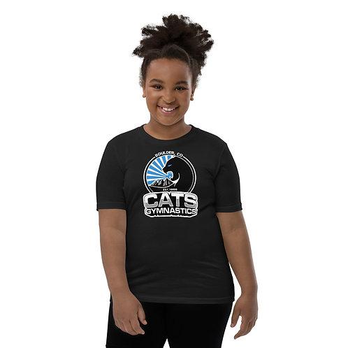Black CATS T-Shirt - Youth