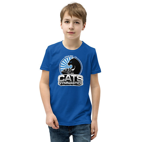 Blue CATS T-Shirt - Youth