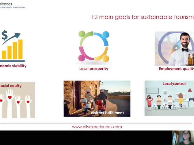 Goals for sustainable tourism