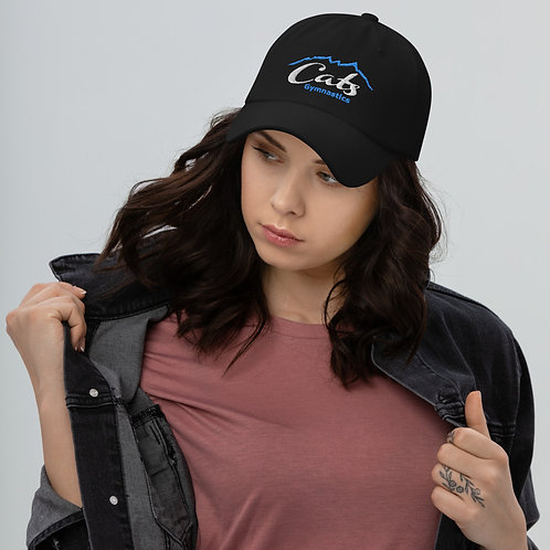 Black CATS Baseball Hat