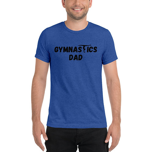 Blue CATS Dad T-Shirt