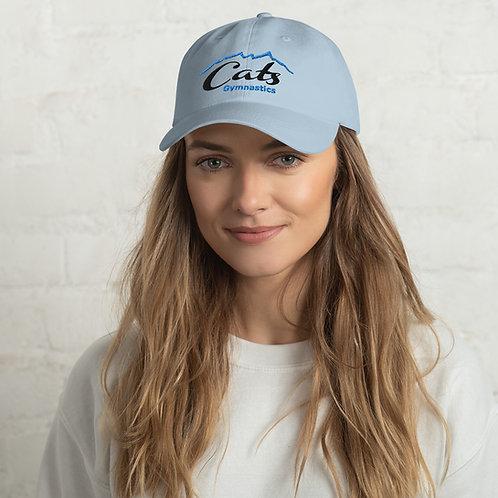 Blue CATS Baseball Hat