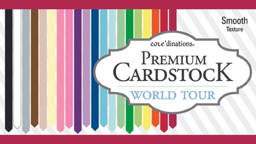 Pacote 100 páginas Cardstock texturizado (smooth)