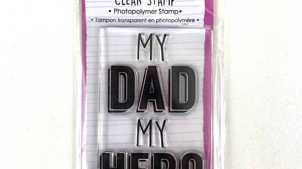 Carimbo MY DAD MY HERO