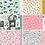 Thumbnail: Kit 6 Papéis - Coleção Garden Party - Maggie Holmes