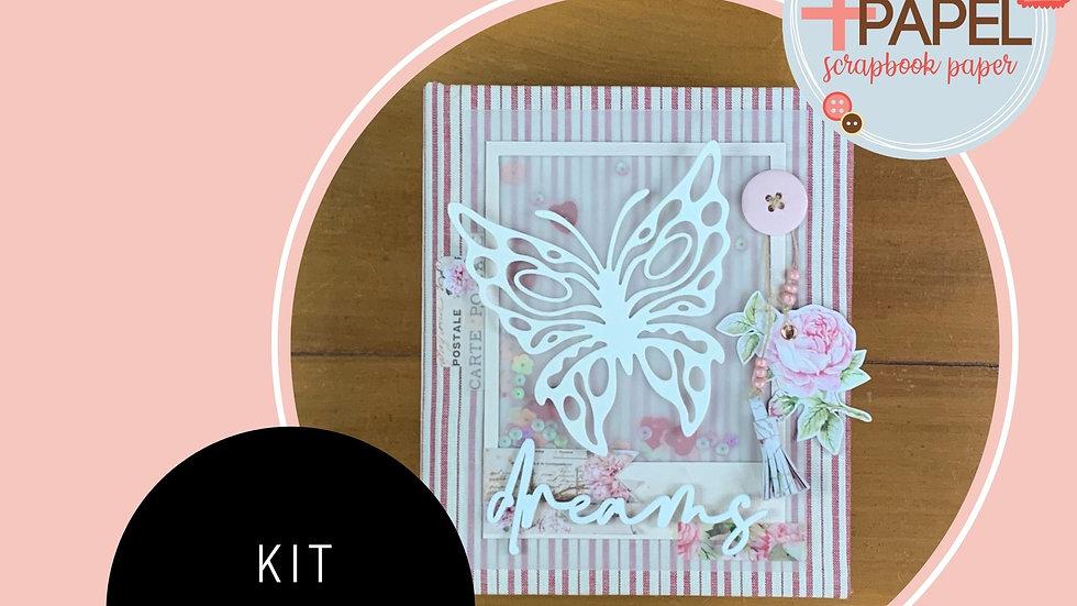 Kit, Passo a Passo e Frete Álbum Flower Market