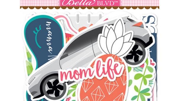 Die Cuts Coleção MOM LIFE - Bella BLVD