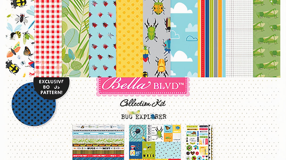 Kit Coleção BUG EXPLORER - Bella BLVD
