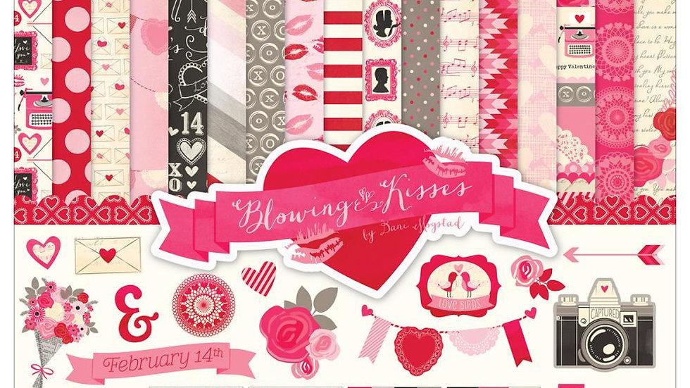 kit Coleção BLOWING KISSES - Echo Park