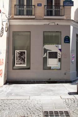 Orgueil 34/ 50 I & II, 7 péchés du capitalisme, xylogravure, Rue Quincampoix, 2021