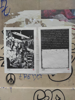Envie I & II 46/50, Rue de Moussy, affiché par Sérina Guillot