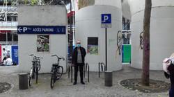Paresse I & II 333/50, rue Saint- Martin , affiché par Romaine Toesca