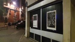 Envie 42/100, xylographie, 70 x 100 cm, quai de L'Oise, affiché par Gaspard