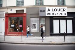 Orgueil 5 /50 I & II, 7 péchés du capitalisme, xylogravure, rue des Francs Bourgeois, 2021