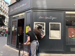 Paresse I & II 26/50, rue Chapon, affiché par Hélène Ceccato