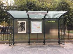 Orgueil 56/100, xylographie, 100 x 70 cm, Parc.