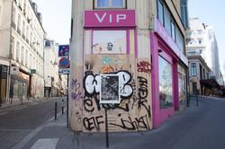 Orgueil 28 /50 I & II, 7 péchés du capitalisme, xylogravure, Rue Beauregard, 2021