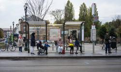 Orgueil 67/100, xylographie, 100 x 70 cm, Place Saint-Denis, 2019.