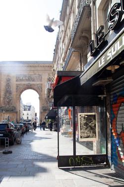 Orgueil 24 /50 I & II, 7 péchés du capitalisme, xylogravure, Rue du Faubourg Saint-Denis, 2021