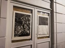 Envie 33/100, xylographie, 70 x 100 cm, Bourse, affiché par Gabriel.