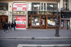 Orgueil 12 /50 I & II, 7 péchés du capitalisme, xylogravure, Avenue de l'Opéra,2021