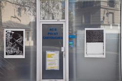 Orgueil 19  /50 I & II, 7 péchés du capitalisme, xylogravure, Rue de Turenne, 2021