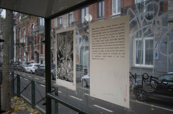 Gourmandise I & II 37/ 100, xylographie, 70 x 100 cm, Vanderkidere, 2019 @Ithier Held