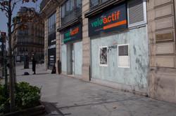 Orgueil 31 /50 I & II, 7 péchés du capitalisme, xylogravure, Rue Turbigo, 2021