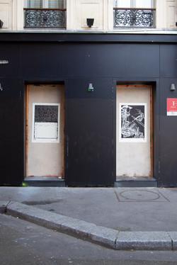 Orgueil 22 /50 I & II, 7 péchés du capitalisme, xylogravure, Rue Pierre Chaussons, 2021