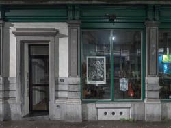 Envie 36/100, xylographie, 70 x 100 cm, Boom Café, affiché par Marcel.