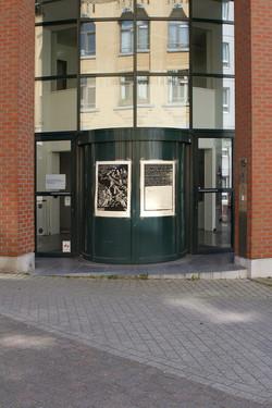 Envie 41 /100, xylographie, 70 x 100 cm, Quitterie, 2020, affiché par Anne