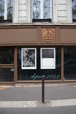 Orgueil 3 /50 I & II, 7 péchés du capitalisme, xylogravure, Boulevard Beaumarchais, 2021