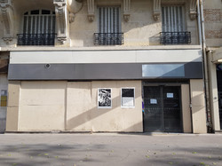 Paresse I & II 15/50, Boulevard Diderot, affiché par Emmanuel Seguin