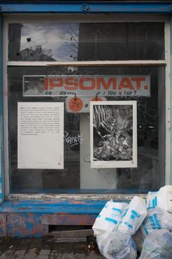 Gourmandise I & II 45/100, xylographie, 70 x 100 cm, Buyl, 2019