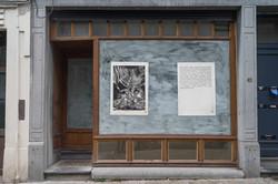 Gourmandise I & II 50/100, xylogravure, Place du Chatelain, 2019