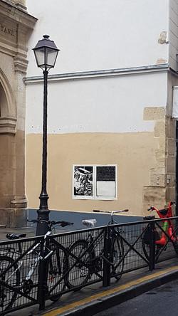 Paresse I & II 7/50, rue des Blancs Manteaux, affiché par Jean-Christophe Salvi
