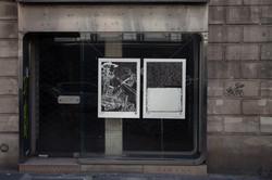 Orgueil 18 /50 I & II, 7 péchés du capitalisme, xylogravure, Rue de Turenne, 2021