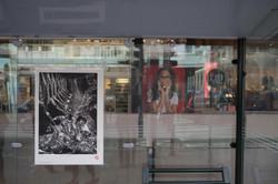 Gourmandise I & II 45/100, xylographie, 70 x 100 cm, Bascule, 2019