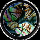 Seymchan meteorite Thin Section seen through a PetroViewer