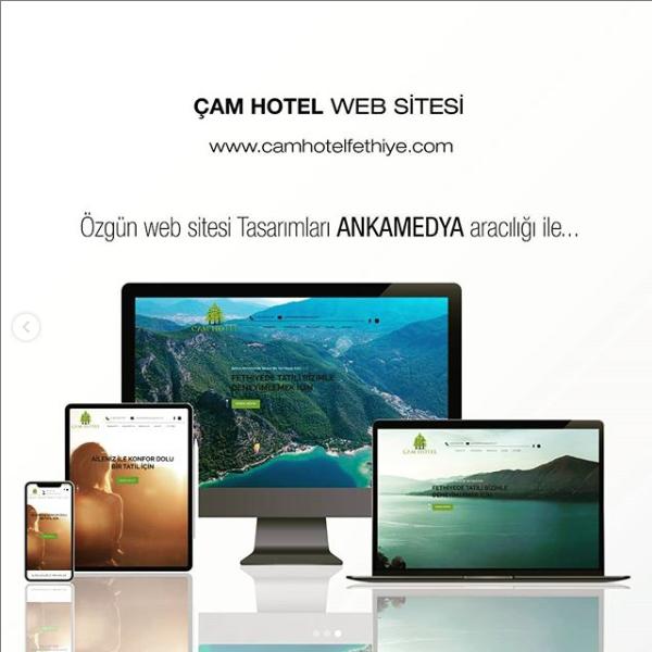 Çam Hotel Web Tasarım