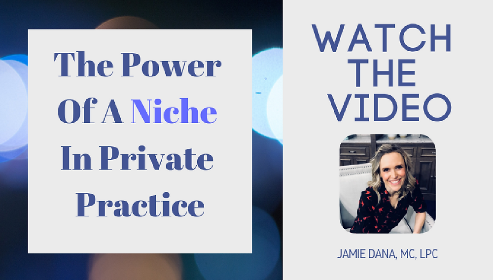 Grow Your Practice The Power Of A Niche