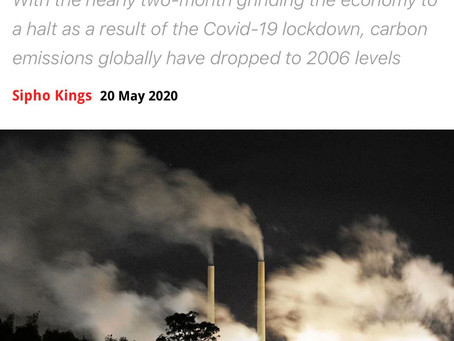 "Carbon emission ""lockdowns"" a real possibility"