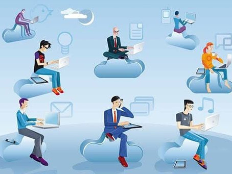 """The magic of an """"office in the cloud"""""""