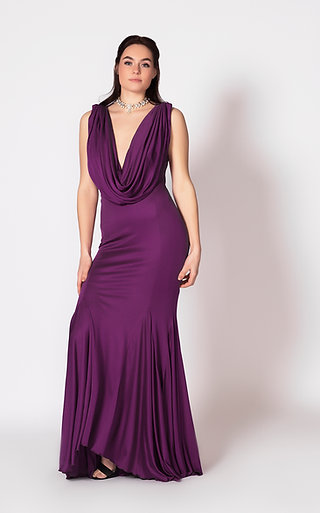 Cowl Gown