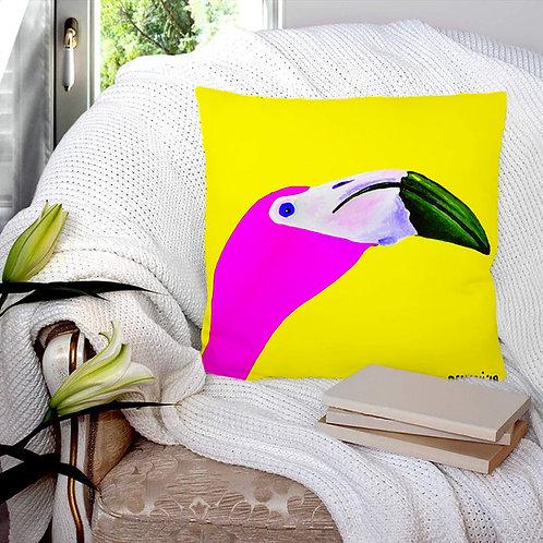 Caribbean Print Pillow