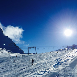 Ski Opening Kaprun_#unbelievable #austriasunset #picoftheday #holidays #snow #skiing
