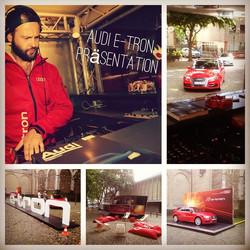 - Last Saturday -_Promotion Tour_#audi #e-tron #slightdj #cologne